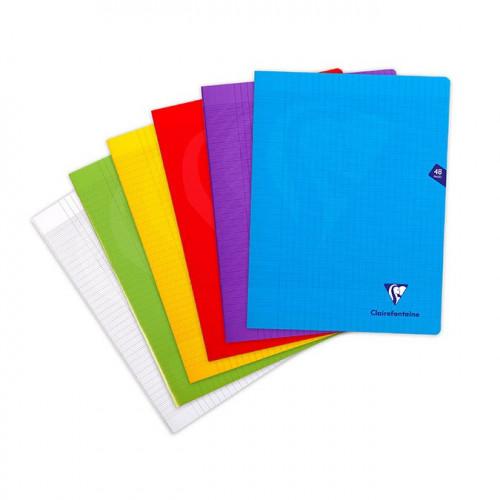Cahier avec couverture en polypropylène - 24 x 32 cm - 48 p