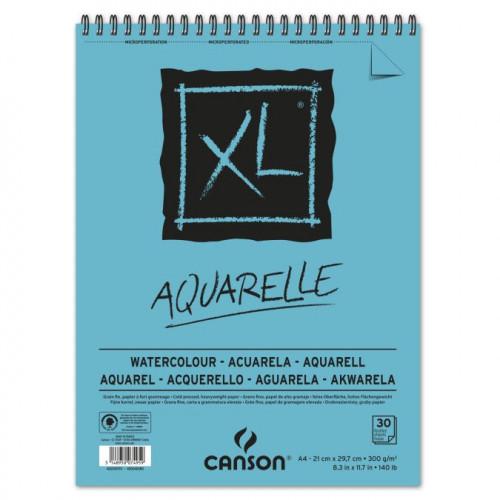 Papier aquarelle - 300 g/m² - A4 - 30 feuilles
