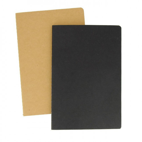 2 carnets unis 100g - 32 pages - A5