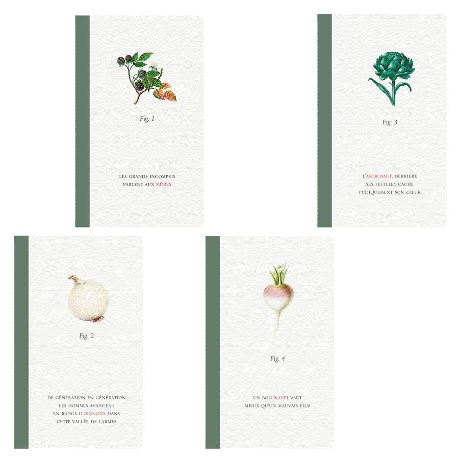 Histoires naturelles Jardin - Carnet - 7,5 x 12 cm - 48 pages
