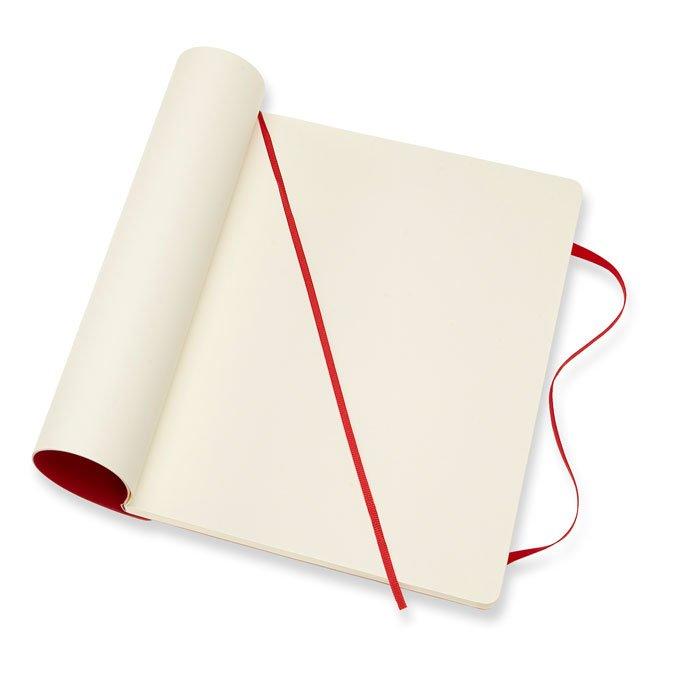 Carnet blanc souple - Scarlet  - 19 x 25 cm