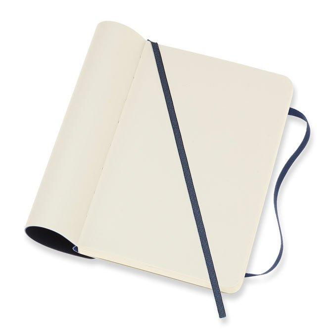 Carnet blanc souple - Saphir - 9 x 14 cm
