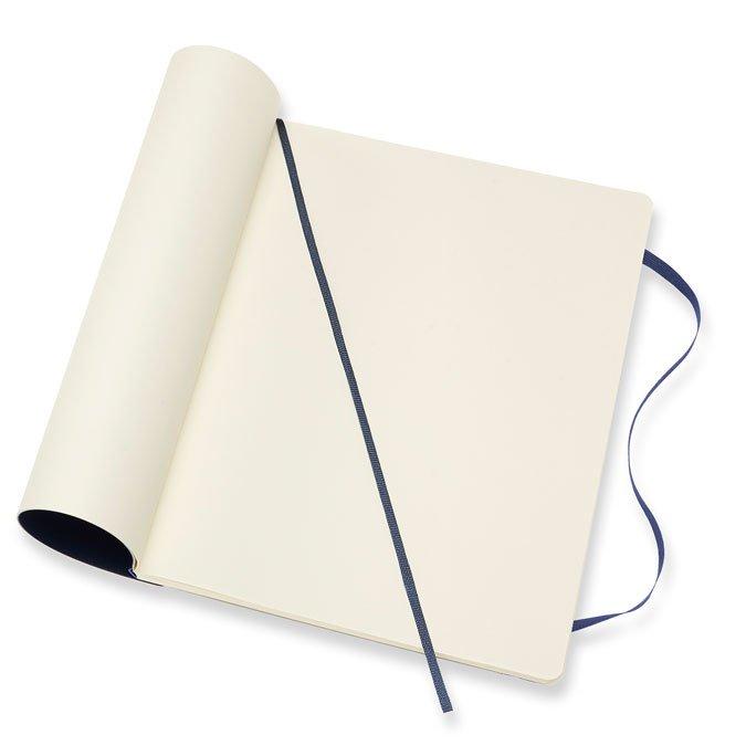 Carnet blanc souple - Saphir - 19 x 25 cm