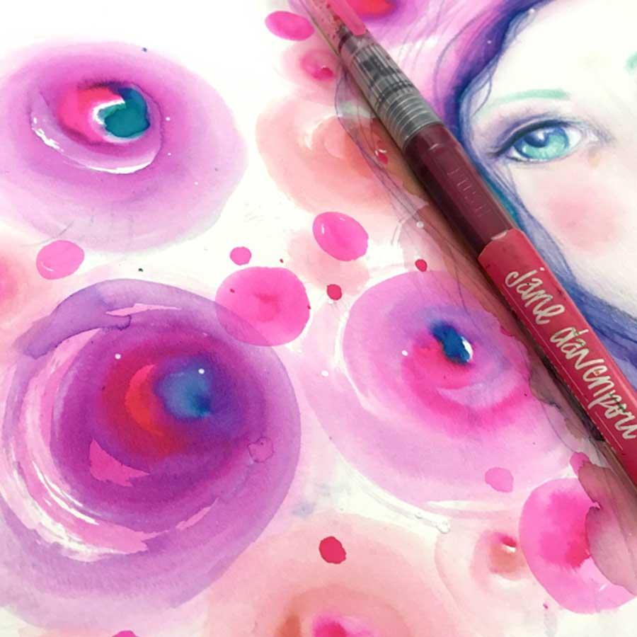 Marqueurs pinceau aquarelle Sirènes - 12 pcs