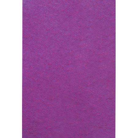 Feutrine adhésive - violet - A4