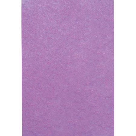 Feutrine adhésive - mauve - A4