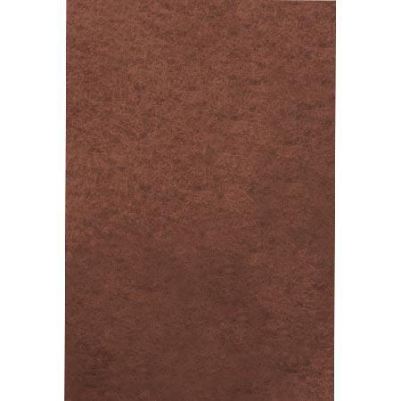 Feutrine adhésive - marron - A4