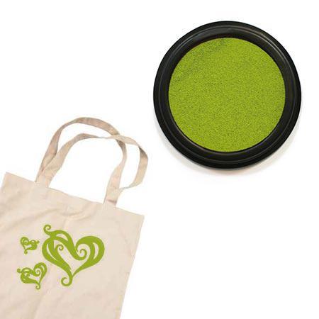 Izink textile - Tampon encreur - Vert clair absinthe