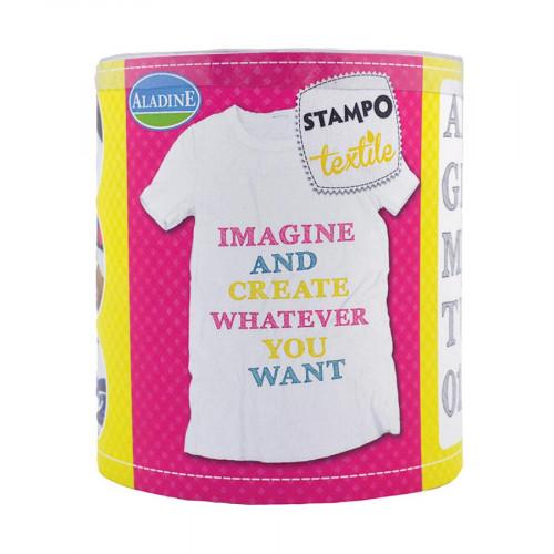 Stampo Textile - Alphabet Sketch