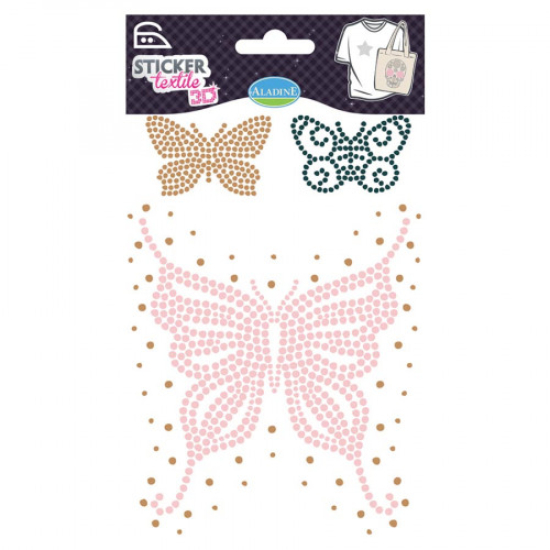 Strass Thermocollants - Papillons
