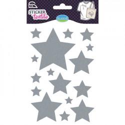 Stickers textile Glitter