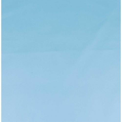 Simili cuir - bleu clair - 50 x 68 cm