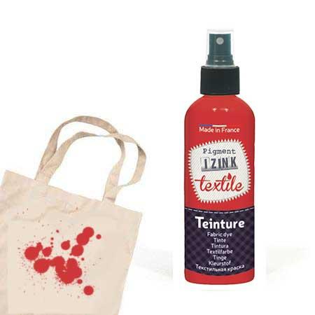 Teinture textile Izink Rouge santal - 80 ml