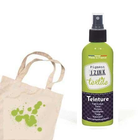 Teinture textile Izink Vert clair absinthe - 80 ml