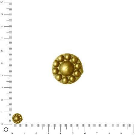 Clous à Griffes - 10 mm - Doré