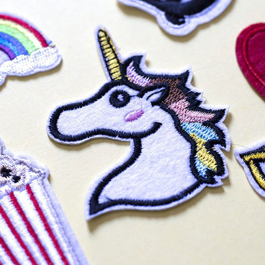 Ecusson thermocollant - Licorne