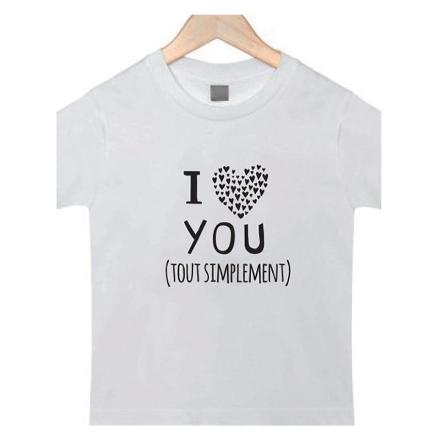Motif thermocollant I Love You - A5