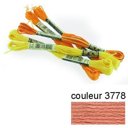 DMC 117 mouliné, fils à broder - couleur 3778