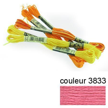 DMC 117 mouliné, fils à broder - couleur 3833