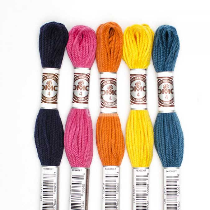 Fil à tapisser Retors Mat - couleur  2396
