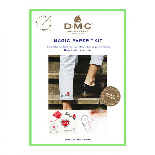 Broderie traditionnelle Kit Amour