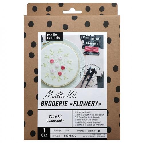 Kit Broderie Flowery