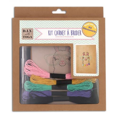Kit Carnet à broder - 13 x 18 cm