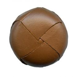 Plastique football style aspect cuir marron foncé tige boutons À faire soi-même Vêtements CRAFTS
