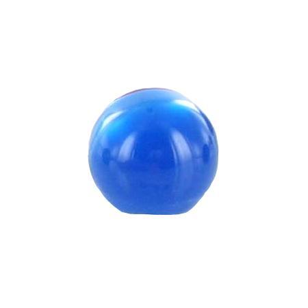 Bouton tunnel boule bleu roi - 2,2 cm