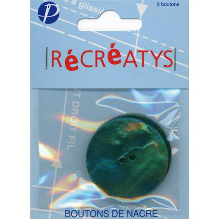 Boutons nacre - Ronds