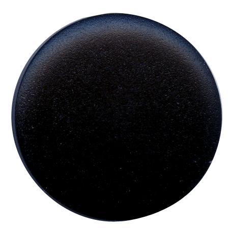 Bouton tunnel pastille bleu nuit - 1,3 cm