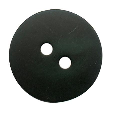 Bouton 2 trous gala satin vert olive - 1,8 cm