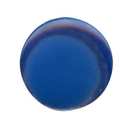 Bouton à queue ''imitation nacre'' bleu turquoise - 1,4 cm