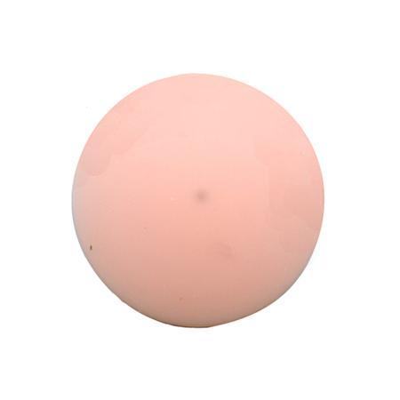 Bouton à queue brillant rose layette - 1,2 cm
