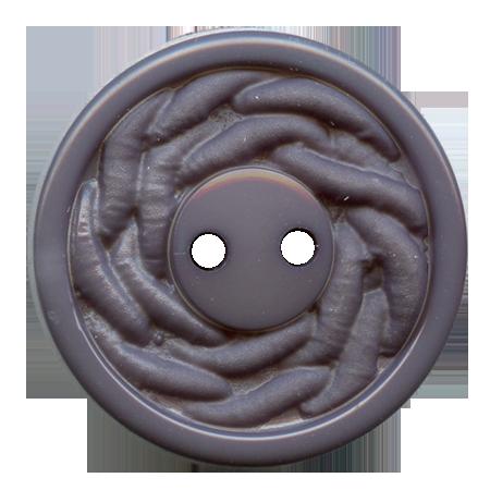 Bouton 2 trous gris - 1,8 cm