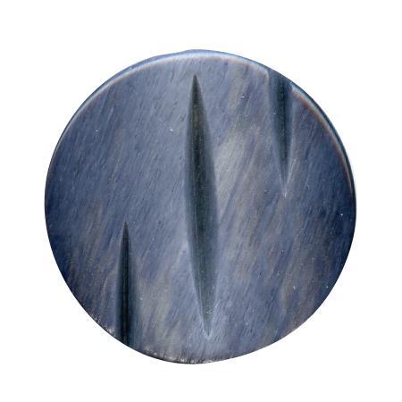 Bouton tunnel bleu marine - 1,5 cm