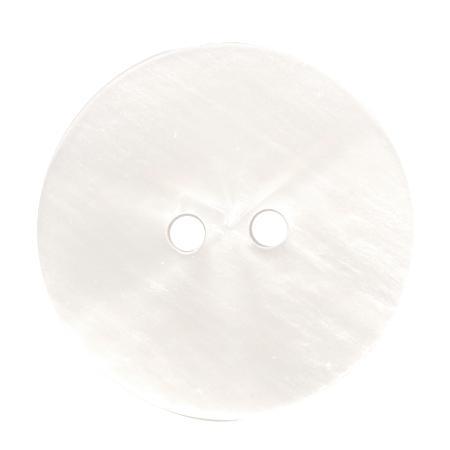 Bouton 2 trous ivoire - 1,5 cm