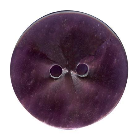 Bouton 2 trous violet - 1,5 cm