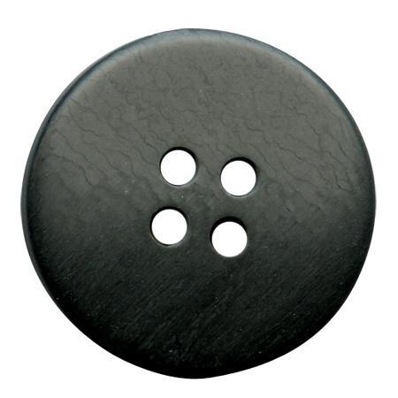 Bouton 4 trous noir - 1,5 cm