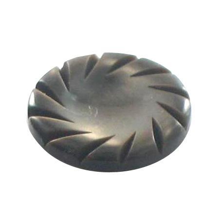 Bouton à queue gris - 1 cm