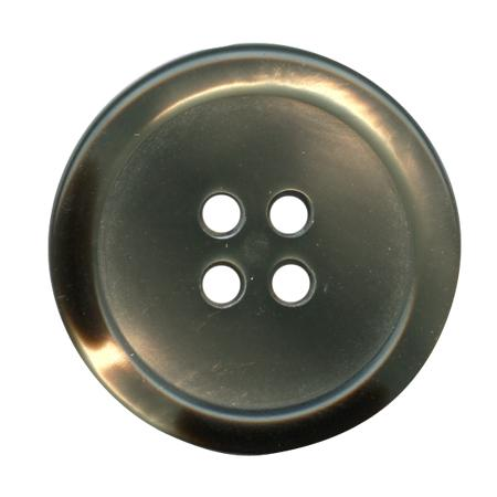 Bouton 4 trous  gris - 1,5 cm
