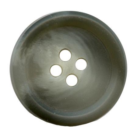 Bouton 4 trous gris - 2,5 cm