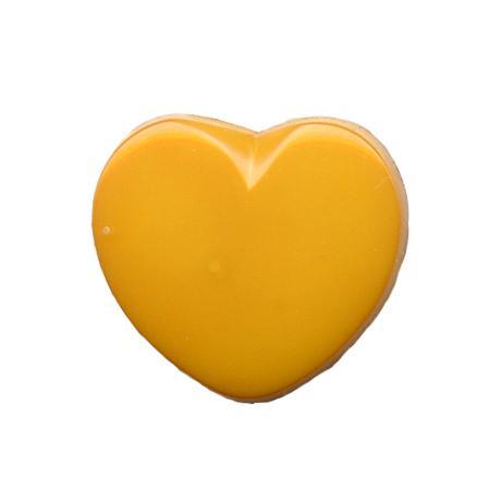 Bouton à queue ''coeur'' - sable