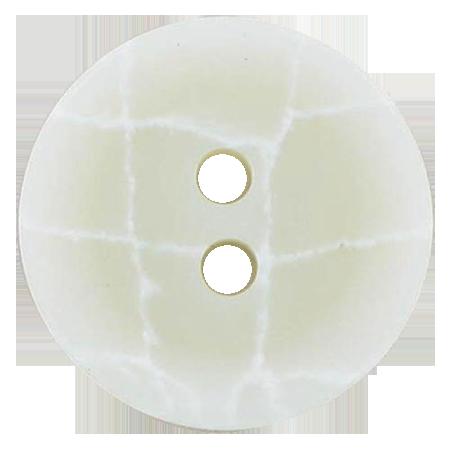 Bouton 2 trous ivoire - 2,2 cm
