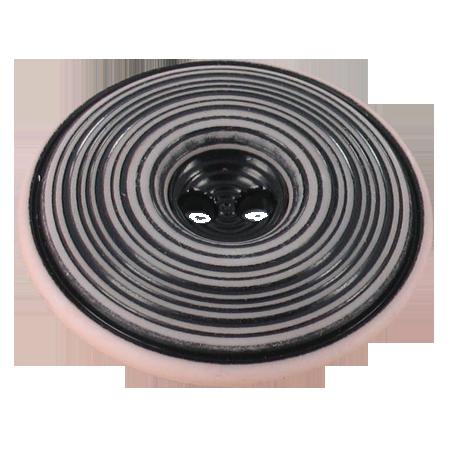 Bouton 2 trous spirale rose - 3,4 cm