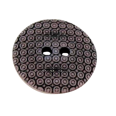Bouton 2 trous slave rose - 2,2 cm