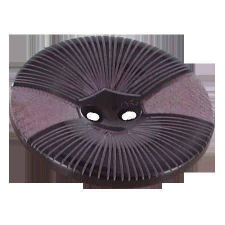 Bouton 2 trous  rose - 2,8 cm