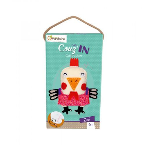 Little Couz'in - Peluche à confectionner - Zoé la poule