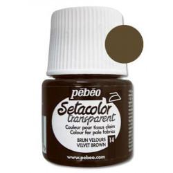Sétacolor Tissus Clairs - 45 ml - Brun Velours