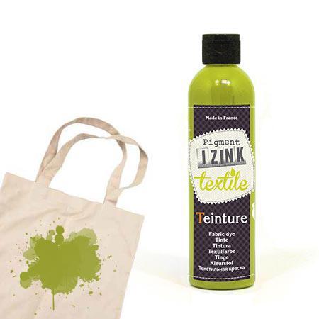 Izink teinture textile - Vert clair absinthe - 180 ml